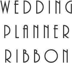 WEDDING PLANNER RIBBON