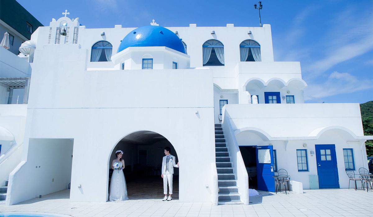 Villa Santorini Wedding≪ヴィラサントリーニウェディング≫